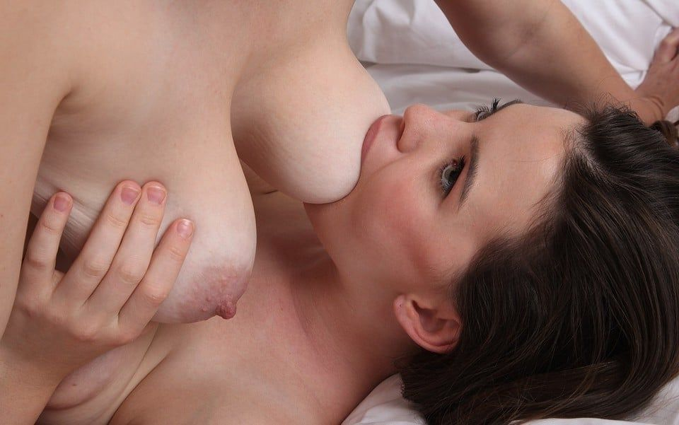 Awesome pussy sucking big lactating tits fuck. and HOW