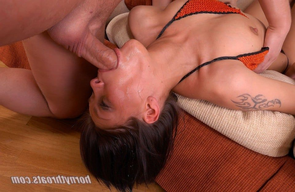 Message, Oral sex deep throat porn