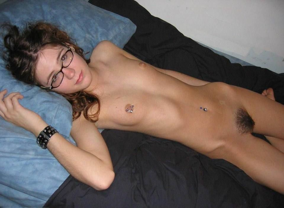 Skinny nerd girl sex