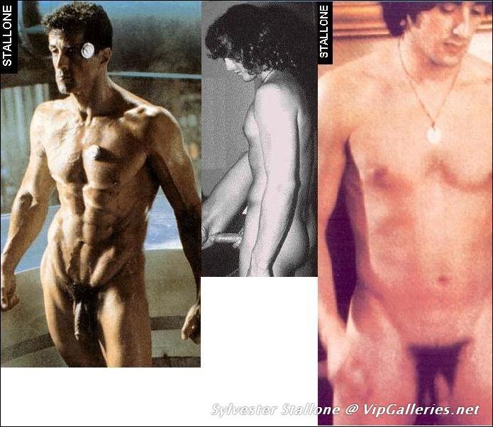 Penis sylvester stallone Sylvester Stallone