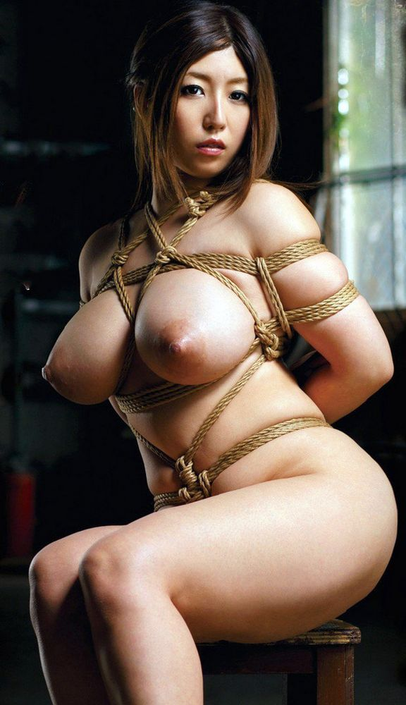 Big tit asian bondage