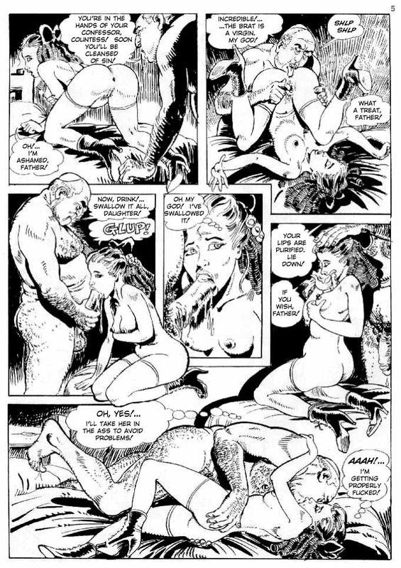 Adult comic fendom blowjob