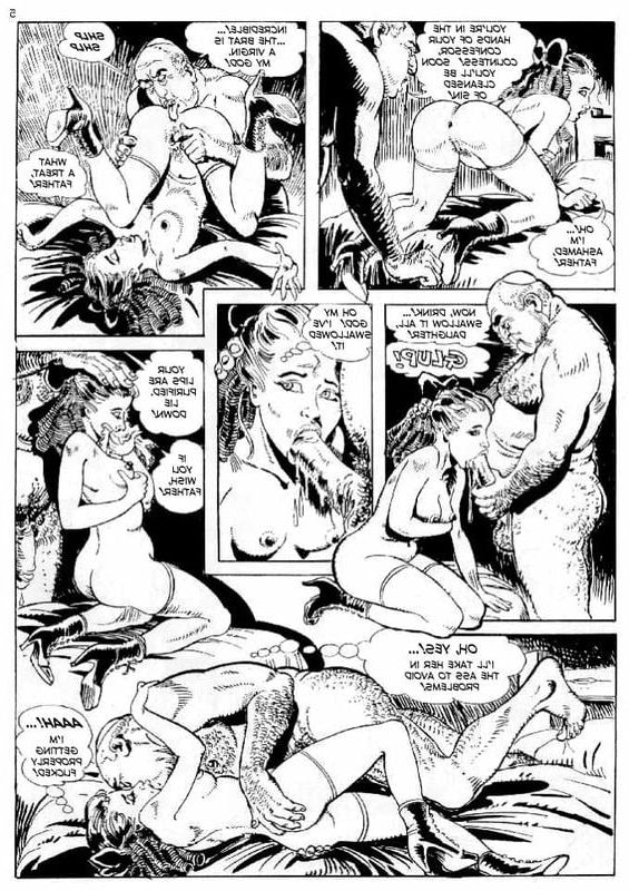 strip comic porn