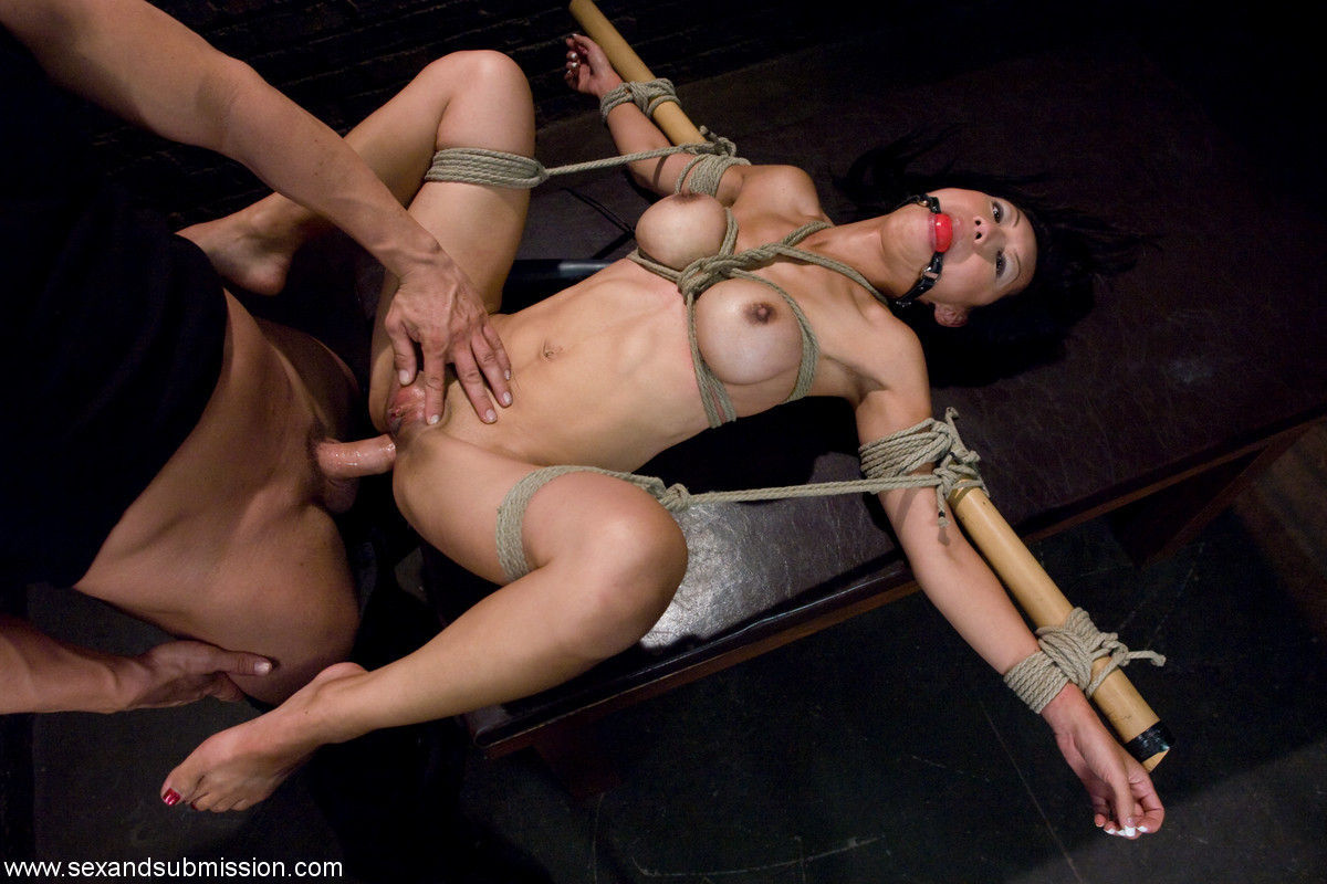 and sex tied up Girl forced