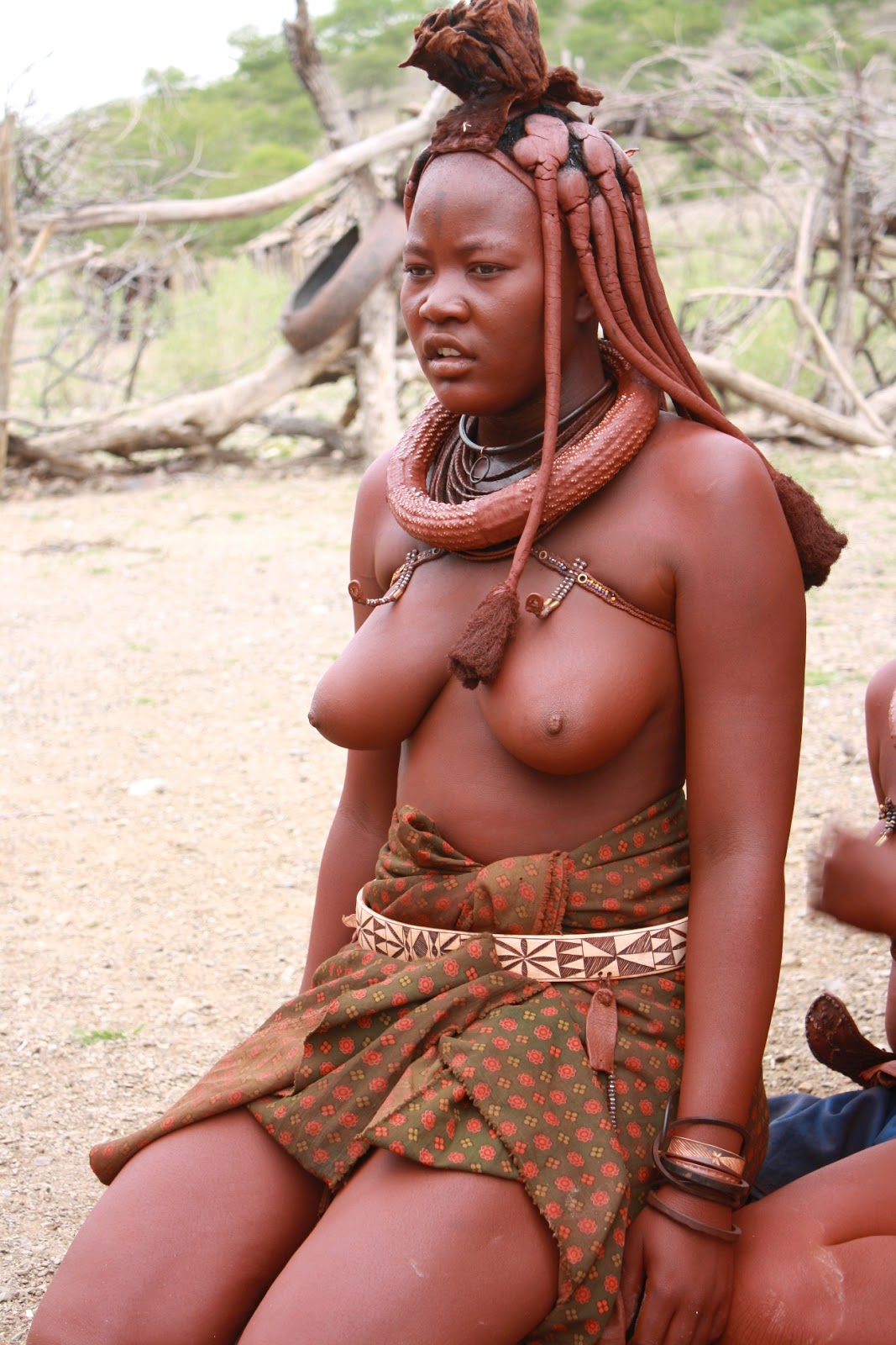 African tribal women having sex
