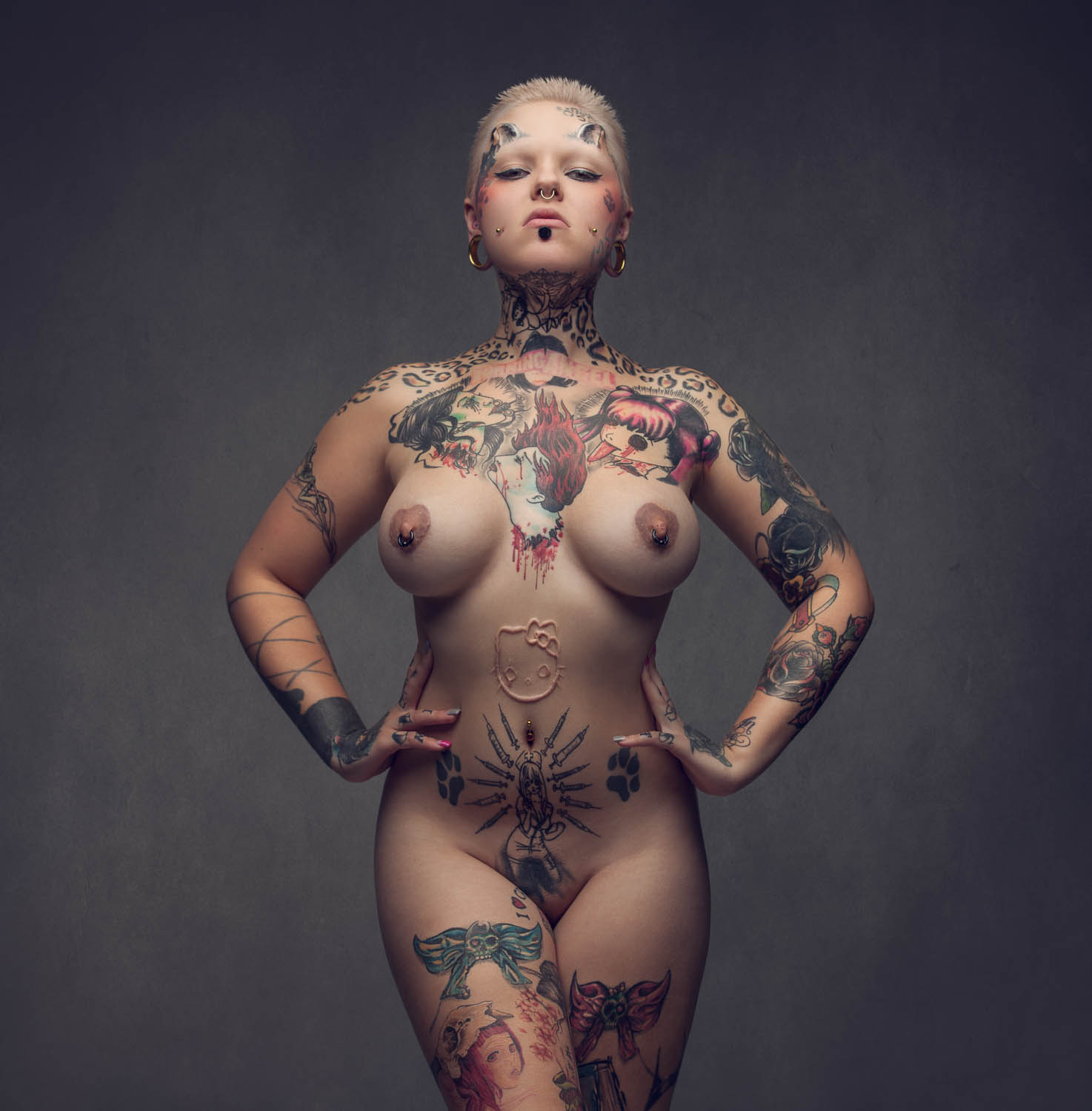 tattoo latin women nude
