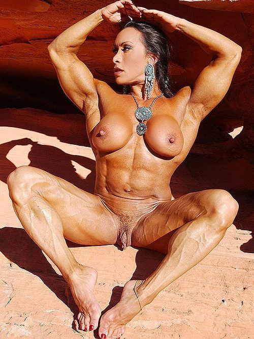 muscle babes with big clit stories