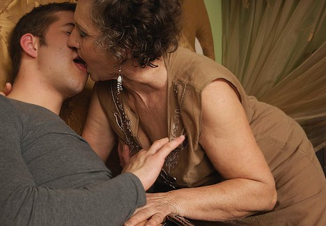 All Mature lesbian grannies kissing