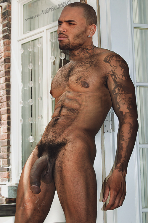 from Wilson chris brown naked fake