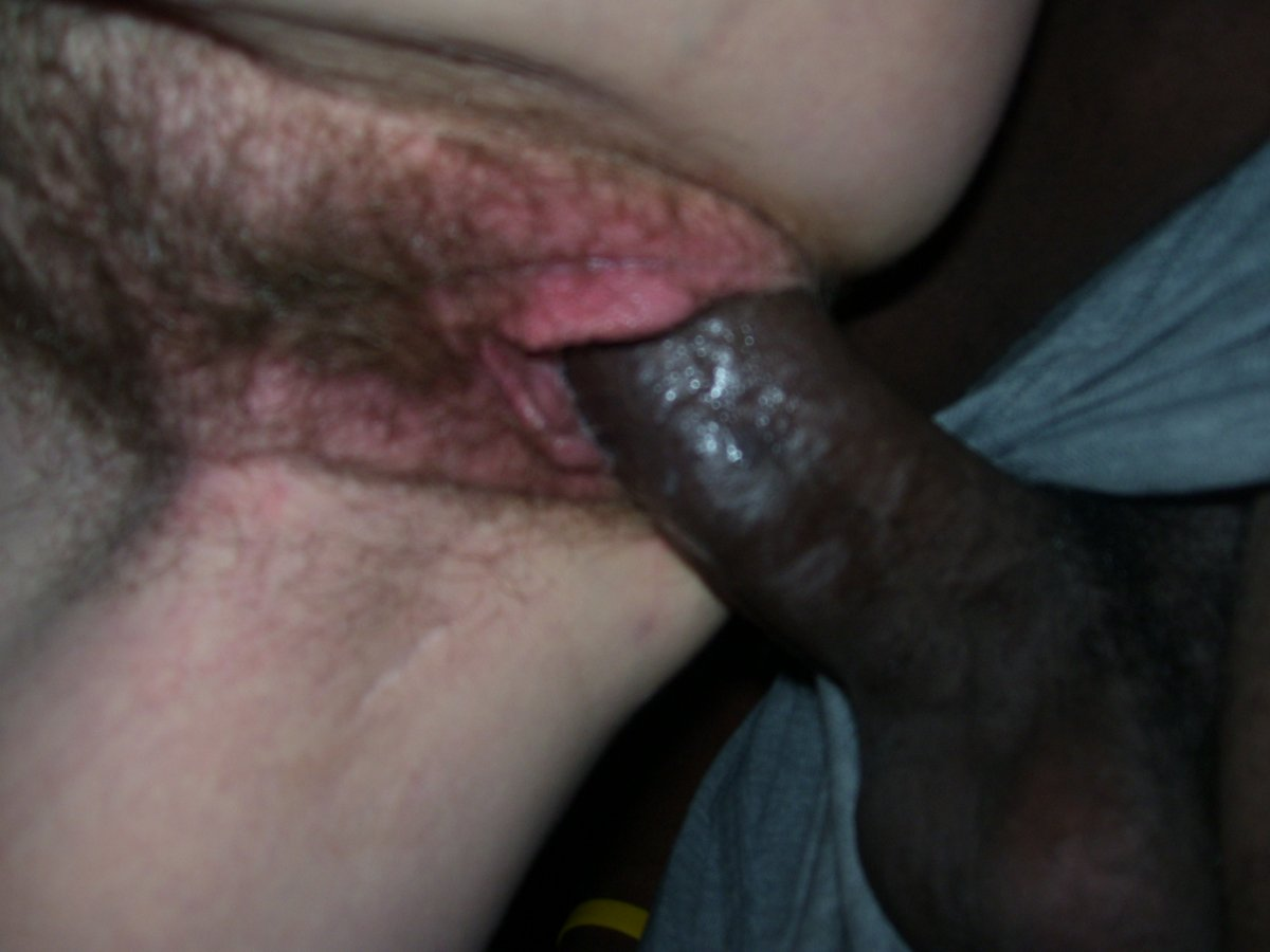fresh tight pussy and black dick fucking