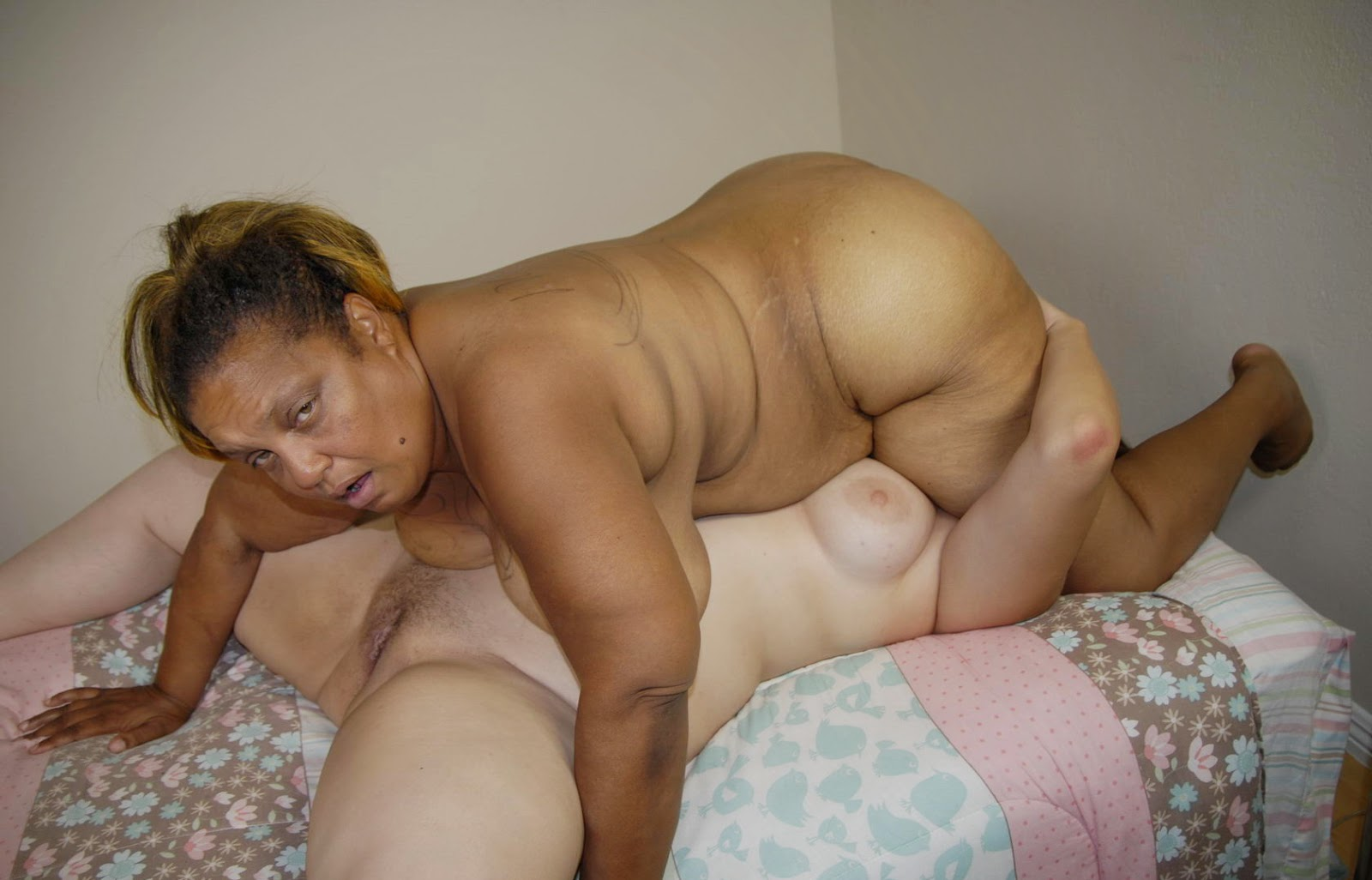 Black grandmother milf