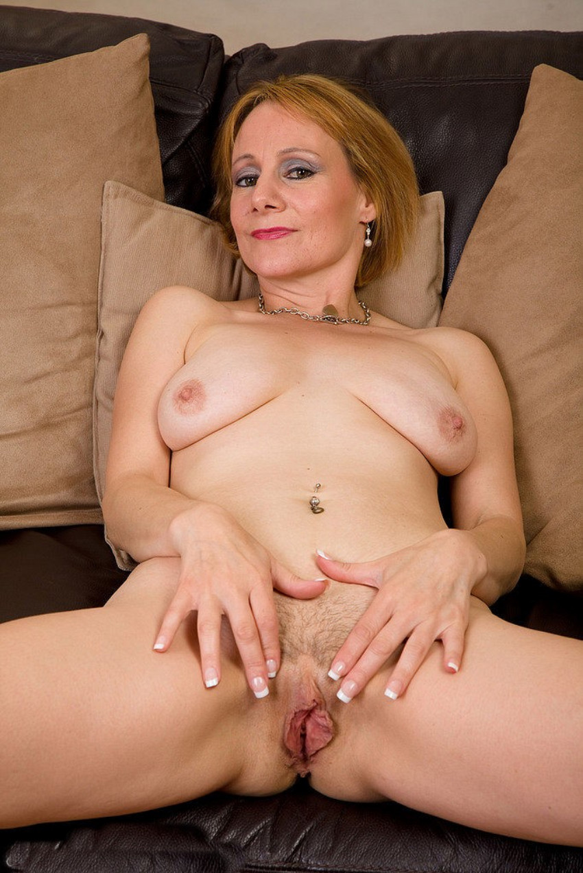 Half nude actress