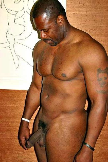 old Black naked men