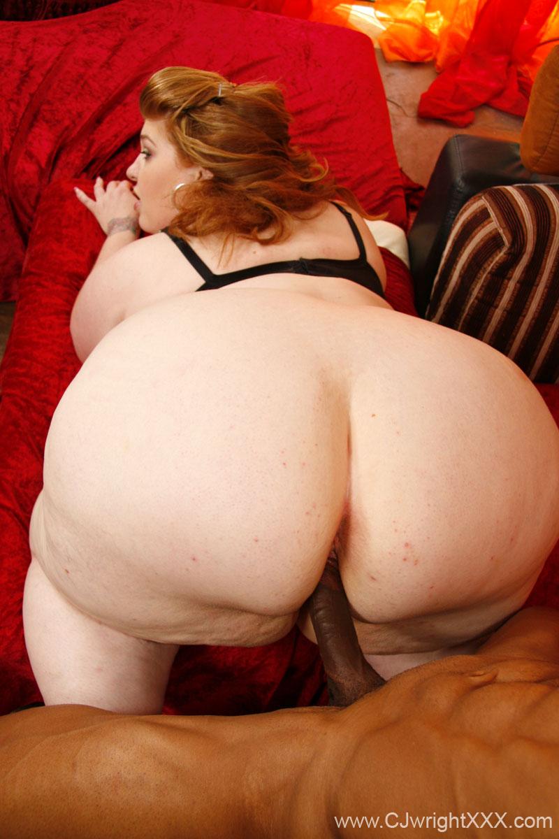 Bbw big white ass