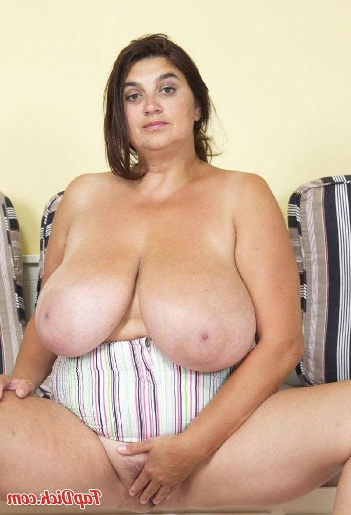 Old women with big tits fucking