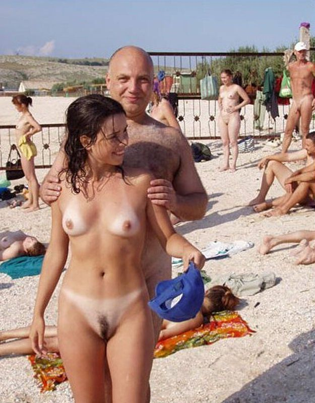 Big black cock nude beach