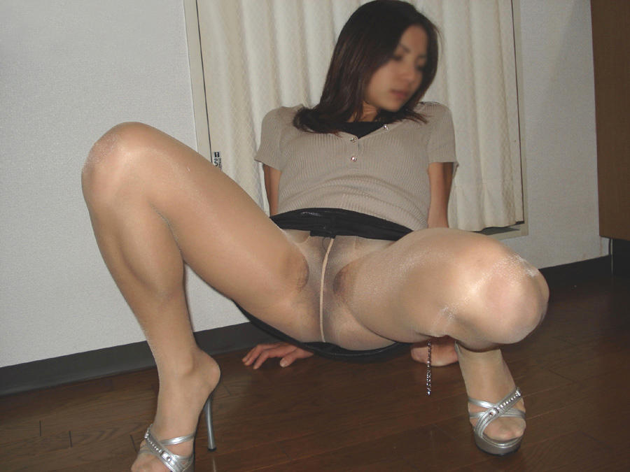 Pantyhose models asian