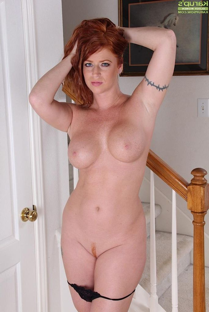 mature Red women nude headed