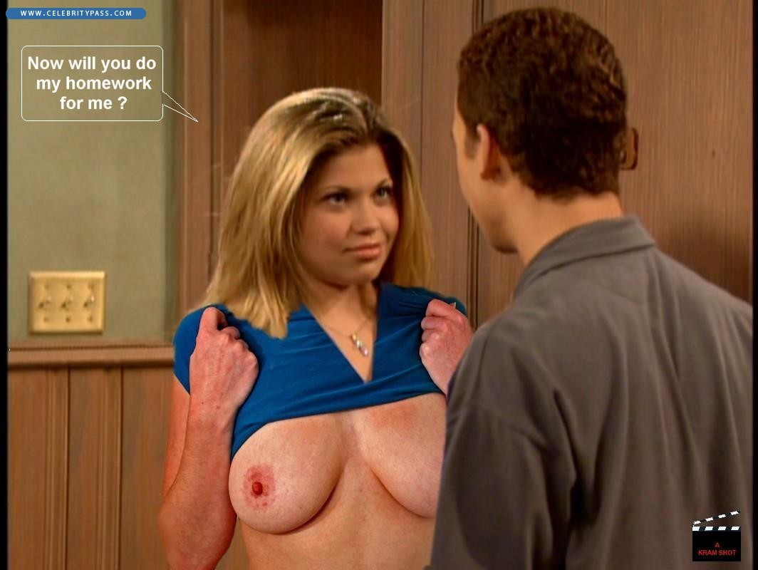 topanga from boy meets girl naked