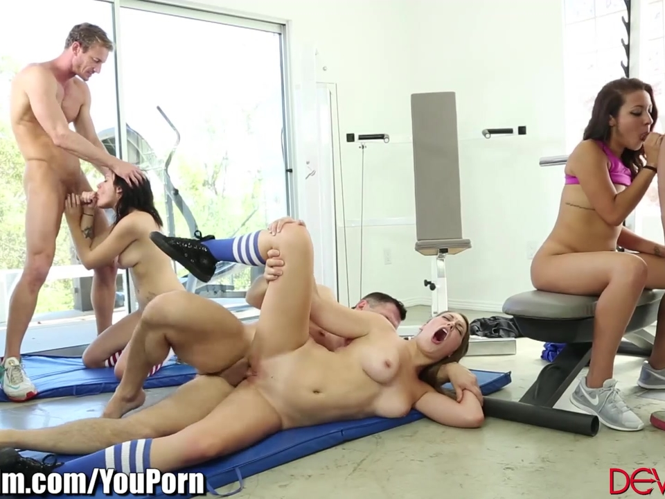 Sex in a gym videos