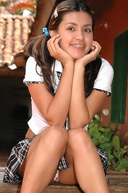 real young latina school girls naked
