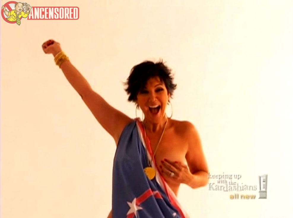 from Felix kris jenner nude and naked fake