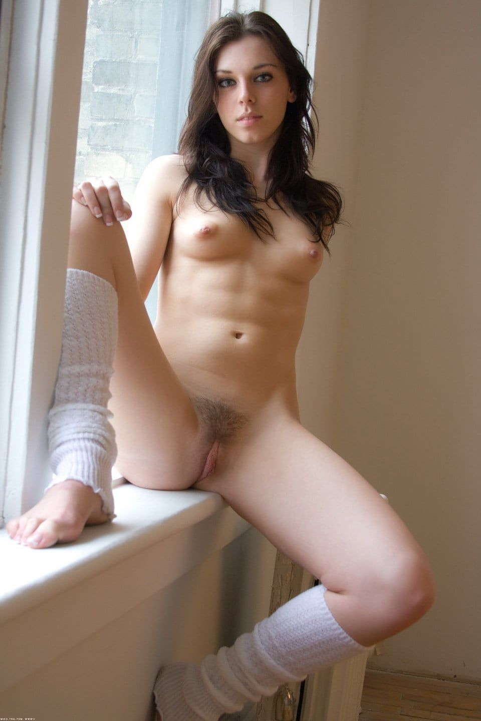 naked woman next door video
