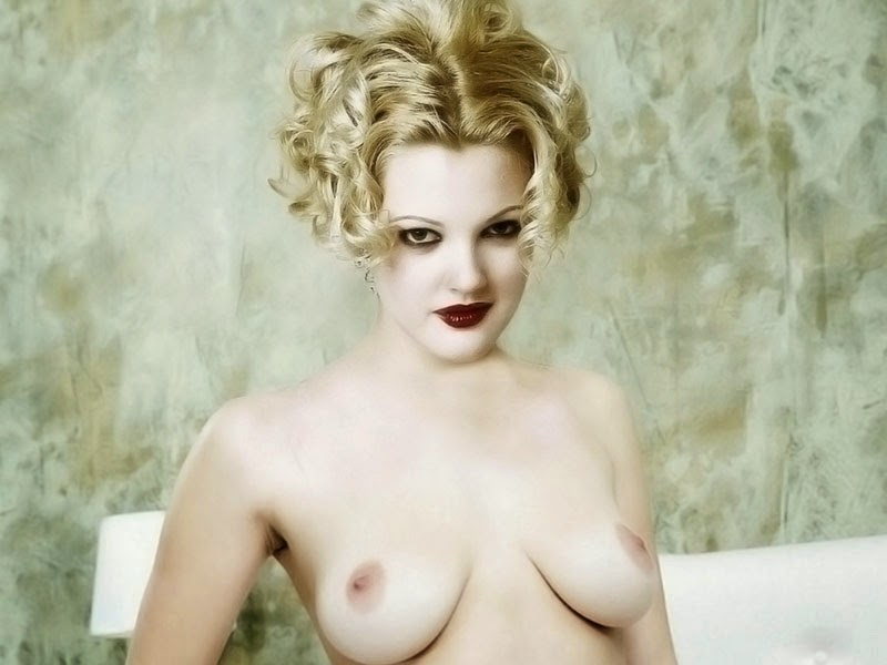 Think, that Drew barrymore pussy pics consider, that