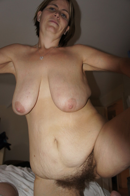 Big white saggy tits