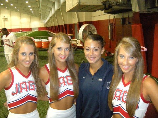 Cheerleaders Sport World: University of South Alabama