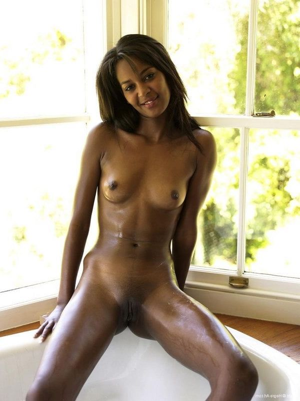 Hot skinny black girls naked