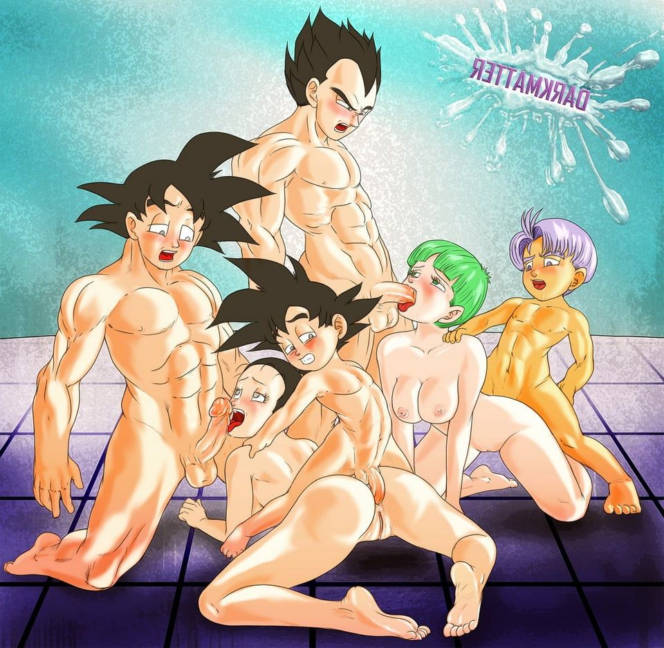 Dragon ball goku and chi chi porn