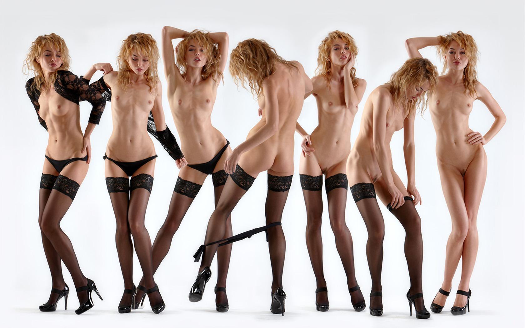 Just girls nude dance