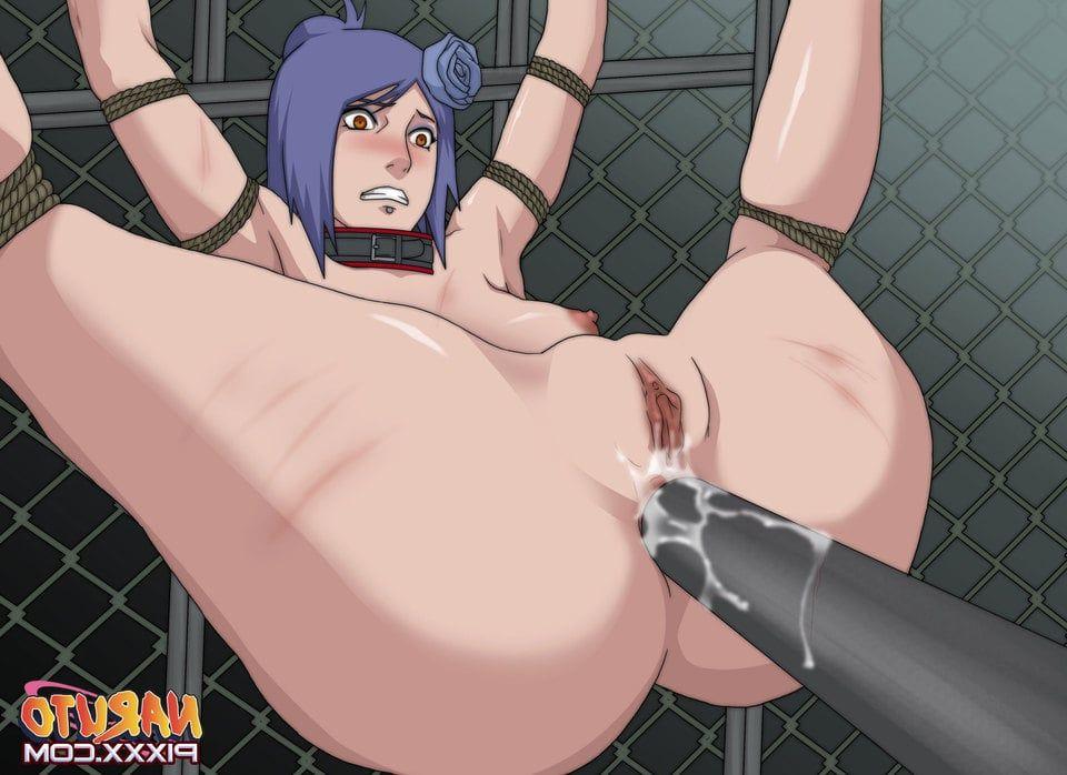 konan hentai Naruto bondage