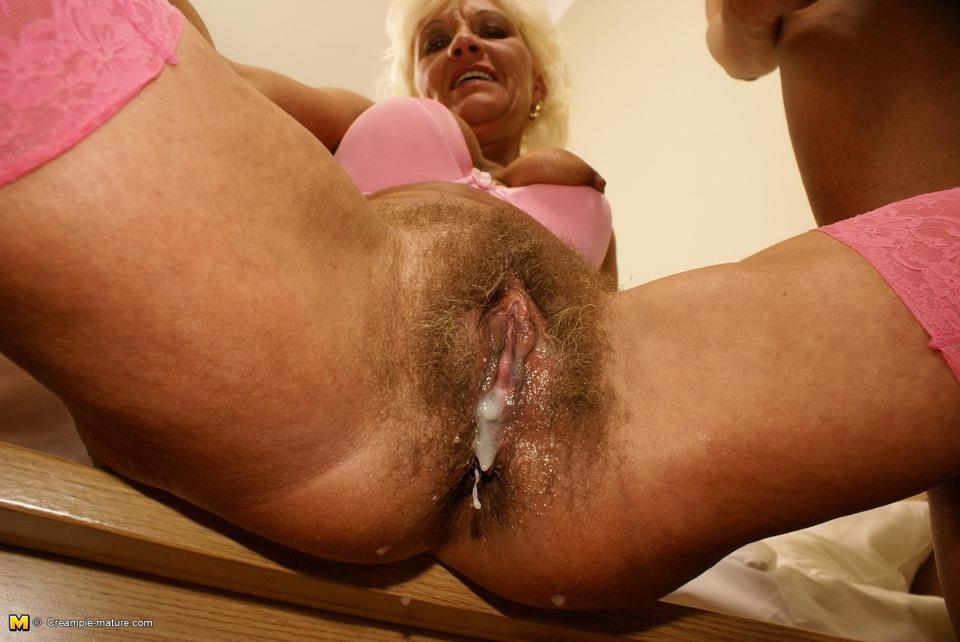Hairy Brunette Creampie Hd