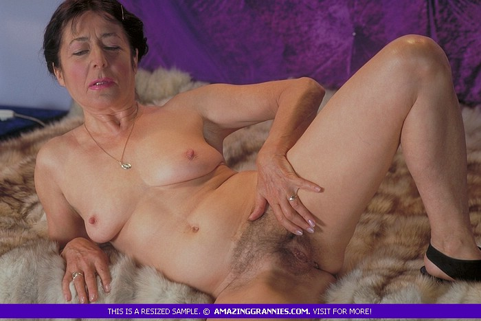 Hairy Russian Mature Anal