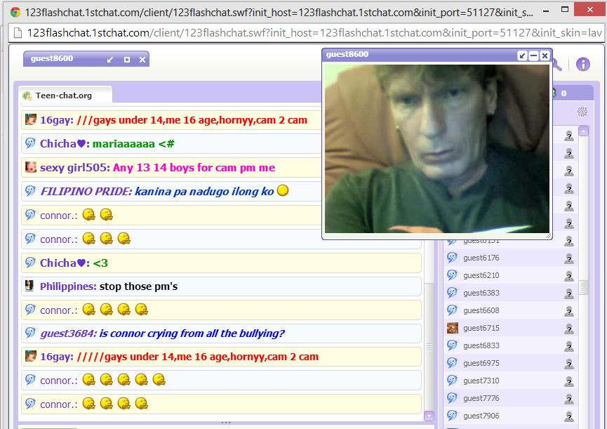 Xxx teen chat room