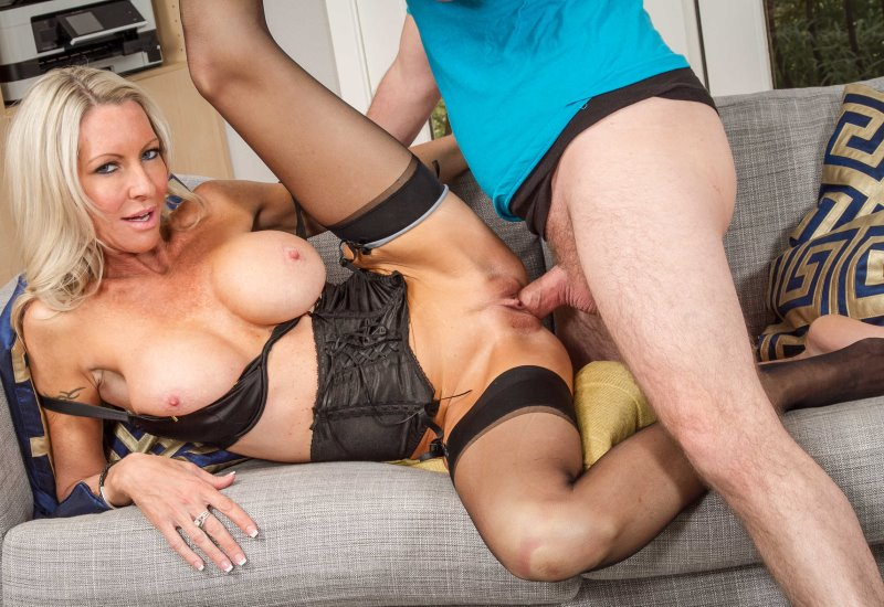 Mom mature on girl