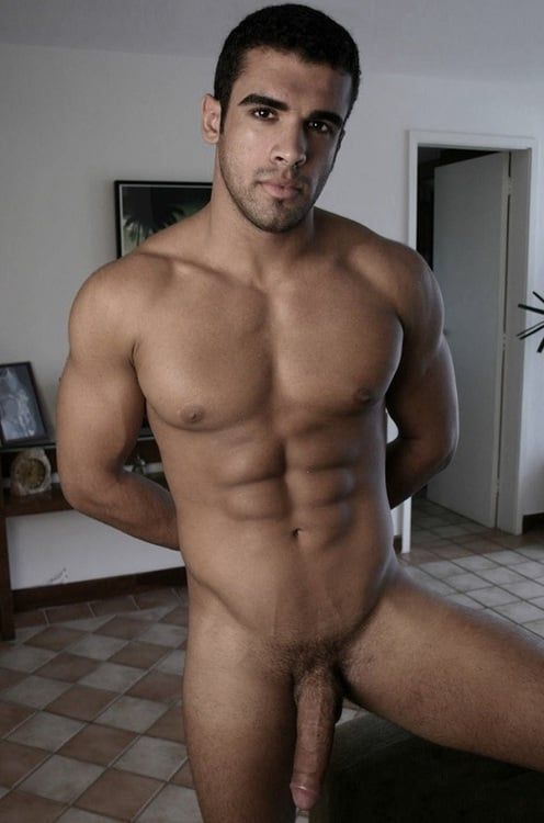naked gay latino jerking off