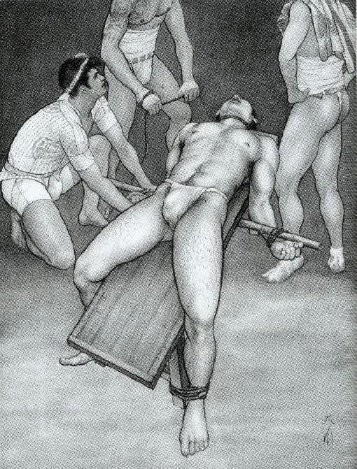 art Japanese gay bondage