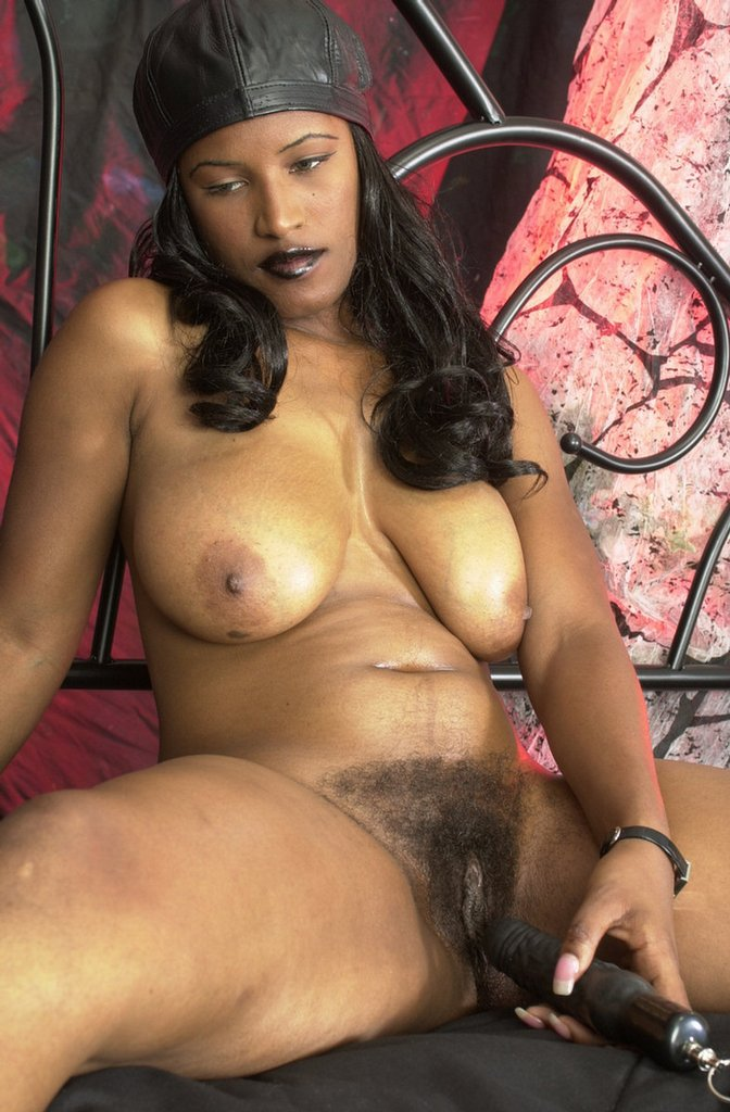 hairy nude black woman