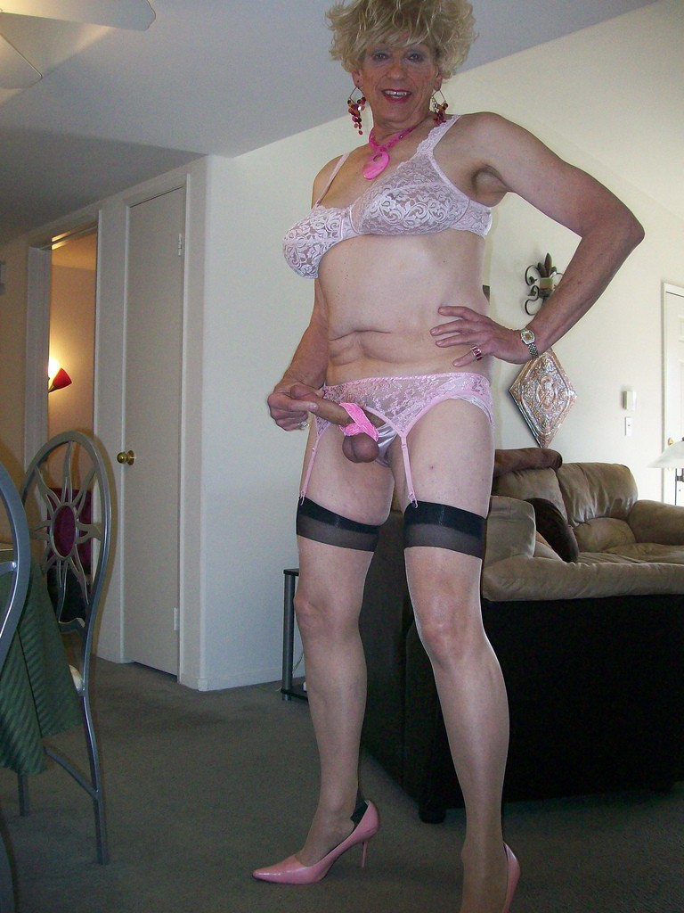 old mature crossdresser porn