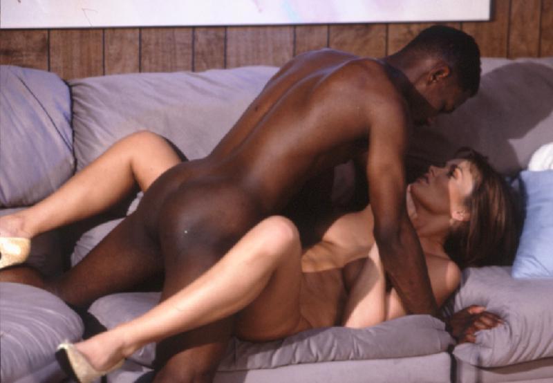 Interracial double penetration gif