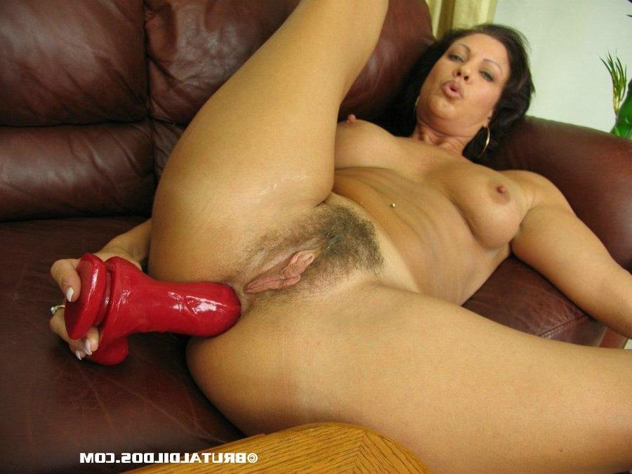 Mature Mom Dildo Masturbation