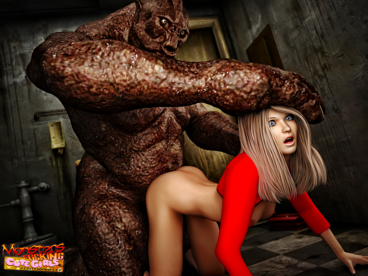 3 d порно секс с монстром