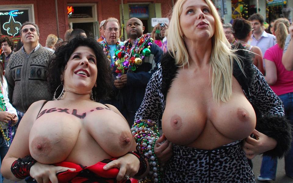 Apologise, mardi gras girls nude