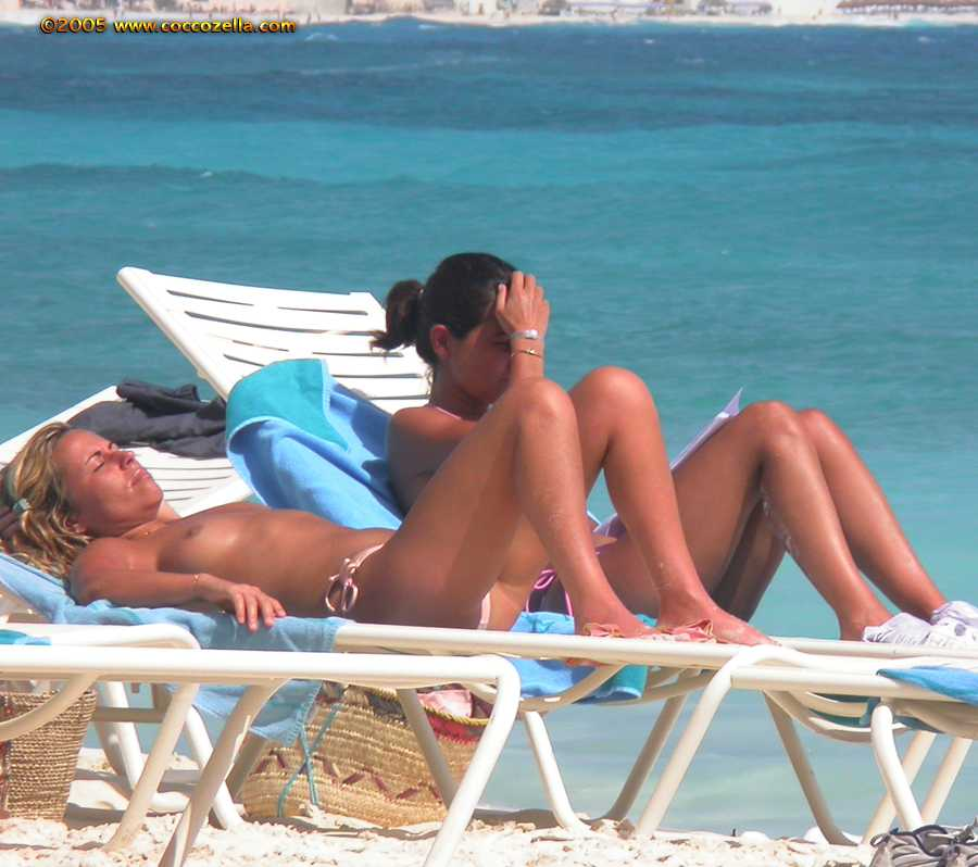 Think Nudist beach cancun think