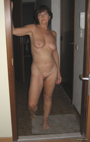 Answer the door naked